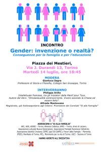 #Gender #Siallafamiglia #Torino