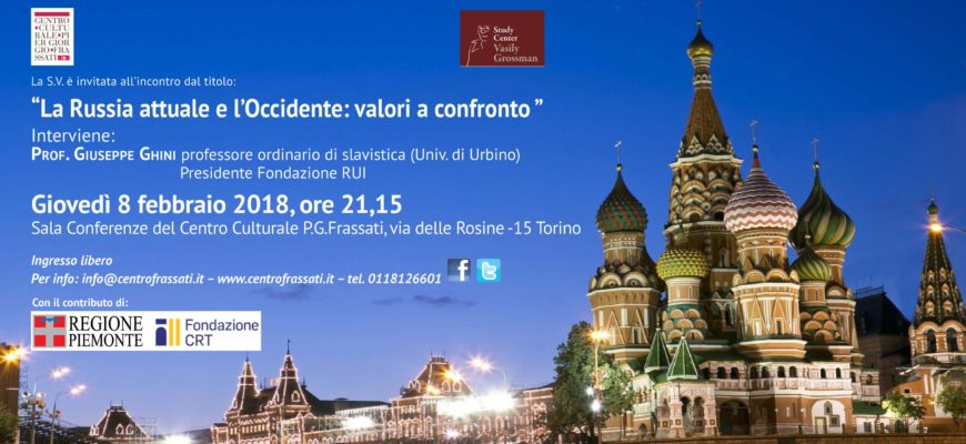 Incontro su Russia e Occidente