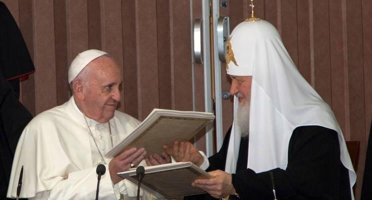 Dichiarazione comune di Papa Francesco e del Patriarca Kirill di Mosca e di tutta la Russia